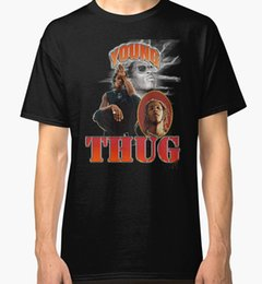 T-SHIRT T-SHIRT S-5XL di Young Thug New Men's Fashion Reasonable Wholesale Ufficiale Manica Corta New Tee Personality 2018 Brand