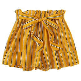 China Shorts Women Ladies Summer Shorts 2019 Korean Style Women Short Femme Girl Casual Bandage Pants Mujer pantalones cortos mujer cheap korean ladies pants suppliers