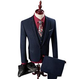 $enCountryForm.capitalKeyWord Australia - 3Piece Latest Coat Pant Designs Suit Men Hot Sale One Button Slim Fit Wedding Dress Men's Suit Blazer Set(Jacket+Pant+Vest)4XL-M