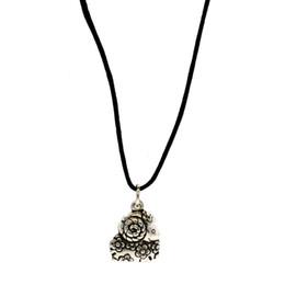 $enCountryForm.capitalKeyWord Australia - 925 Silver zodiac pendant DIY fashion personality pure silver animal shape leather pendant