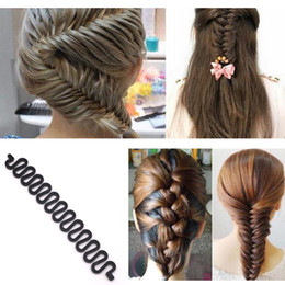 $enCountryForm.capitalKeyWord Australia - Ladies French Style Hair Braiding Tool Weave Braider Roller Women Hair Twist Styling Tool Maker DIY Accessories for Women
