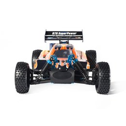 11 rc battery Canada - RC Car 1:10 Scale 4wd RC Toys Two Speed Off Road Buggy Nitro Gas Power 94106 Warhead High Speed Hobby Remote Control Car.#98