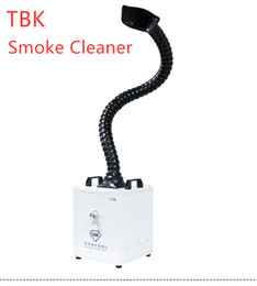 activated iphone UK - TBK Strong Soldering Smoke Cleaner Activated Carbon Filter High Efficiency Purifying Smoker For Professional Repair Worker