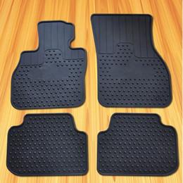 $enCountryForm.capitalKeyWord Australia - 4pcs Rubber Car Floor Mat Waterproof Carpets Rear Trunk Cargo Liner for Mini Cooper F54 New Clubman 2016 2017 2018 Black