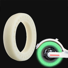 $enCountryForm.capitalKeyWord Australia - Night Fluorescent Scooter Tires For Xiaomi Mijia M365 Luminous Absorber Electric Scooter Skateboard Solid Tire 8.5in Tyres
