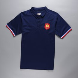Discount france ships - 2018-19 NRL Jerseys France polo home Rugby Jerseys t-shirt new arrival high quality jersey rugby clothes wear free shipp