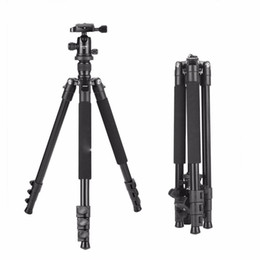Wholesale Hot sale Q555 inch Professional Portable Travel Aluminum Camera Tripod with Degree Ball Head for Digital SLR DSLR Cameras