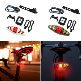 $enCountryForm.capitalKeyWord Australia - 2-in-1 Bicycle Bike Turn Signal Bicycle Light Battery USB Rechargeable Taillight Wireless Remote Control Riding Light #321559