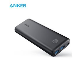$enCountryForm.capitalKeyWord Australia - Anker PowerCore II 20000mAh Power Bank Portable Charger 2 USB Ports PowerIQ 2.0 18W Output Power Bank Fast Charging for samsung smartphone