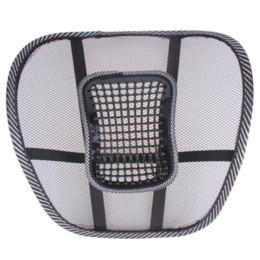 Office Chair Car Australia - Office Chair Car Seat Cover Sofa Cool Massage Cushion Lumbar Back Waist Brace Lumbar Cushion High Quality Seat Supports