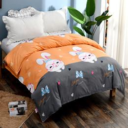 $enCountryForm.capitalKeyWord Australia - NEW Air-permeable printed quilt cover printed cartoon duvet cover 21 flower color 200cm*230cm High-quality