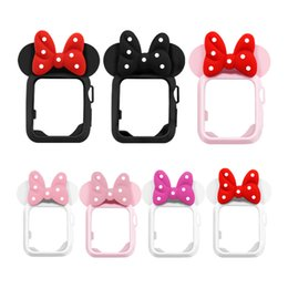 Mouse watches online shopping - Apple Watch Series covers D cartoon mouse ear cute children gifts Apple Watch Series protective case