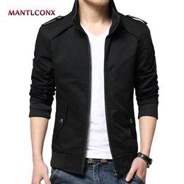 $enCountryForm.capitalKeyWord Australia - MANTLCONX Hot Sale Jacket Men 2019 Men's New Casual Jacket High Quality Spring Regular Slim Coat For Male Wholesale