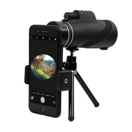 $enCountryForm.capitalKeyWord Australia - Monocular Telescope, High-powered BAK4 Prism FMC Lens Waterproof Scope with Smartphone Adapter Tripod for Travel,Concert,Sports Etc Black
