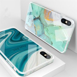 Glass apple charm online shopping - New Arrived tempered glass shiny luxury Creative phone case for iPHONE xsmax xs x xr iphone plus plus splus charming cell phone case
