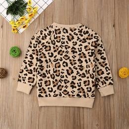 $enCountryForm.capitalKeyWord Australia - 2019 Spring Easter Kids Baby Girl Boy Bunny Long Sleeves Leopard Print T-shirt Sweatshirts Jacket Coat Autumn
