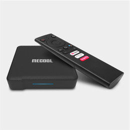 android box video UK - KM1 TV Box Android TV 4GB 32GB Amlogic S905X3 Android 9.0 2.4G 5G Wifi Widevine L1 Google Play Prime Video 4K Voice Set Top Box