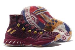 2019 Crazy Explosive PK Vegas Andrew Wiggins Баскетбольные кроссовки для мужчин с высоким верхом Primeknit All Star Sports Кроссовки для тренеров Размер 7-12 на Распродаже