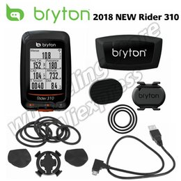 Bike Computers Gps Australia - Bryton Rider 310 Enabled Waterproof GPS Bike bicycle computer speedometer garmin 200 500 510 800 810 mount #492235