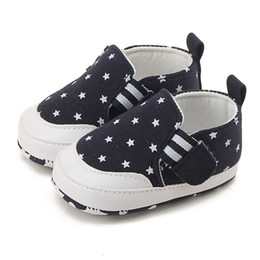 $enCountryForm.capitalKeyWord Australia - Toddler Infant Baby Baby Pattern Soft Shoes Girl Crib For Boy Boy Star Casual Sneaker Shoes Month 0-18 Sole for Canvas