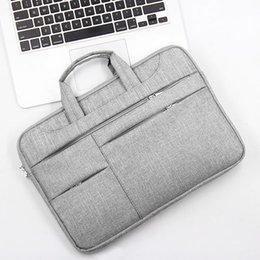 13-15.6 Inç Evrak Çantası Laptop Çantası Oxford Sabit Disk Disk Kasa USB Kablosu Tablet Taşıma Çanta SD998
