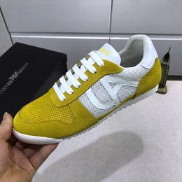 $enCountryForm.capitalKeyWord Australia - Italy famous fashion Lace-Up Genuine Leather breathable Trend casual shoes with sneakers trend mens outdoor Mens casual Shoes EUR 38-45