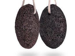 Preto Terra Lava Original Lava Pedra Pomes para Remoção de Calos de Pé Pedicure SPA Ferramentas Pé Pedra-Pomes Stone Cuidados Com A Pele venda por atacado