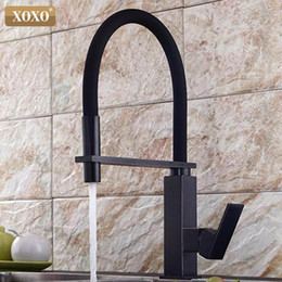 $enCountryForm.capitalKeyWord Australia - XOXO Kitchen Faucets Pull Down Black Kitchen Tap Sink Crane Cold and Hot Single Hole Torneira De Cozinha Mixer Water Taps 1344