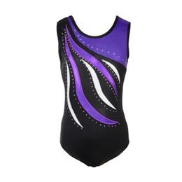 bbb5800f817b Pop 2019 Child One-Piece Sleeveless Cotton Gymnastics Leotards Professional  Ballet Dance Wear Hot Sale Ballerina Bodysuit Jumpsuit
