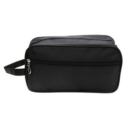 $enCountryForm.capitalKeyWord UK - Men Male Casual Waterproof Makeup Travel Cosmetic Bag Case Pouch Toiletry Solid Zipper Large Capacity Wash Organizer