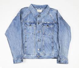 d4bc78e6a6f9 Brand denim shirt men online shopping - FOG Fear of God Mens Brand Designer  Jackets Vintage