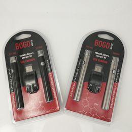 $enCountryForm.capitalKeyWord Australia - BOGO LO Preheat Battery Starter Kits shatter vape tank Vaporizer Pen Variable Voltage 510 Thread VV 400Mah Electronic Cigarettes Batteries