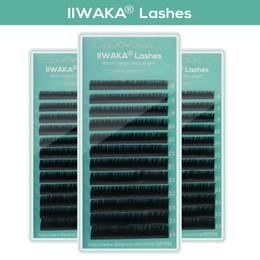 Eyelash Tray Mix Australia - Makeup Lashes 12 Lines 8-14 Mix tray Individual Eyelash Extension Faux Mink Eye Lash