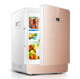 1pcs CNC Vehicle Refrigerator Single-door Mini Vehicle Refrigerator Heater on Sale