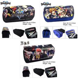 $enCountryForm.capitalKeyWord Australia - Anime Kingdom Hearts Pencil Case Boys Girls Coin Bag Students Stationery Bag Girls Cosmetic New chi-dou-ren Pencil Case