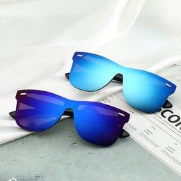 Box Brand Glasses NZ - Summer Brand Men S Sunglasses Luxury Adumbral Full Frame Glasses Fashion Designer Sunglasses For Men Women Glass Uv400 With Box