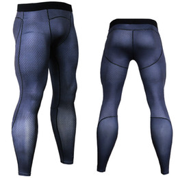 ae6f48e1537d2 Red Black Tights Australia - 3D Crossfit Long Pants Compression Tights Men  Joggers Fitness Skinny Leggings