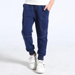 Warm Pants Boy NZ - Autumn Winter Baby Sport Pants School Boy Pants Casual Warm Teenagers Cotton Children Clothing Bottom Baby Trousers Kids Clothes