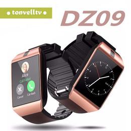 $enCountryForm.capitalKeyWord Australia - A+++ Quality DZ09 Smart Watch Bluetooth Smartwatch Wrist Watches For Phone Support Camera SIM Card TF Card VS U8 GT08 A1 Free DHL
