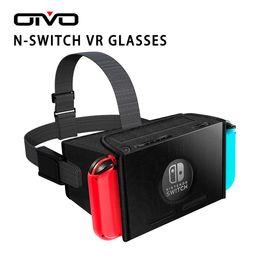 venda por atacado OIVO N-Switch VR óculos de realidade virtual 3D VR Óculos Box Ultraleve Jogo Filmes para Nintend CHAVE VR Vidro para Odyssey Jogos