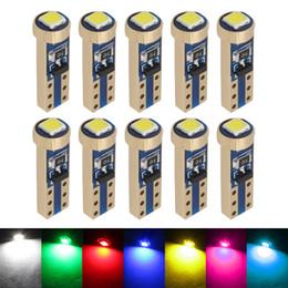 $enCountryForm.capitalKeyWord Australia - 10pcs T5 W3W 3030 1 SMD LED Canbus Light 37 73 74 Wedge Instrument Panel Dashboard Gauge Lamp Dash LED Bulbs Blue Red Pink
