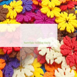 $enCountryForm.capitalKeyWord NZ - New snowflake shape plastic large particle building blocks spelling children's toys Building blocks children's educational toys snowflake pl