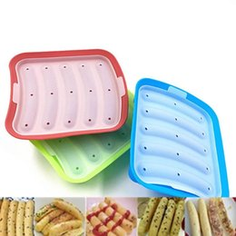 $enCountryForm.capitalKeyWord Australia - Kitchen Gadgets Meat Poultry Tools Silicone Hot Dog Make Mould DIY Sausage Mold Baby Food Supplement Baking Tools Kitchen Props with