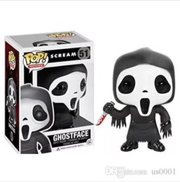 Toy Ghosts Australia - Funko Pop Scream Ghost Face Vinyl Action Figure With Box Gift Toy