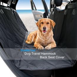 Vente en gros Tapis de protection universel pour chien housse de protection de siège de voiture imperméable pad anti-dérapant pour animal de compagnie hamac durable oxford tissu anti-rayures 137x147cm