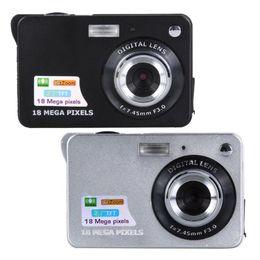 Tft Digital Camera Lithium Australia - 18MP Black Silver Digital Camera DV Camcorder 2.7in TFT CMO Sensor lithium battery LCD Digital Camcorder Camera DV 8X
