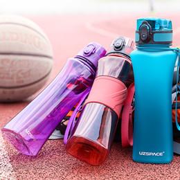 $enCountryForm.capitalKeyWord Australia - Uzspace 500ml 3 Styles Sport Water Bottle Creative Portable Leakproof Plastic Shaker My Drink Bottle Tour Hiking Tritan Bpa Free Y19070303