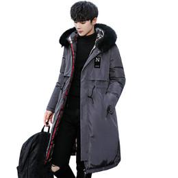 $enCountryForm.capitalKeyWord UK - New Fashion Oversized Winter Jacket Men Famous Brand 3XL Parka Men Thick Warm Long Winter Coat 2018 Quality Ropa Para Hombre