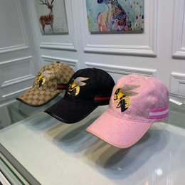 Big Balls Caps Australia - first-rate 2019 the latest Ball cap simple fashion big bee embroidery, but, four seasons for men and women, light and breathable
