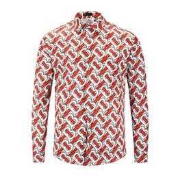 Velour clothing online shopping - 2018 Medusa Business Italy Newest Fashion Long Sleeve Wave Of Men D Striped Print Luxury Brand Clothing Harajuku Casual dress Shirts M XL